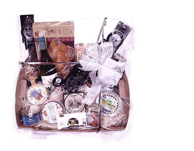 Slider Cestas de Navidad Gorfolí, Tienda online de Productos Gourmet de Asturias