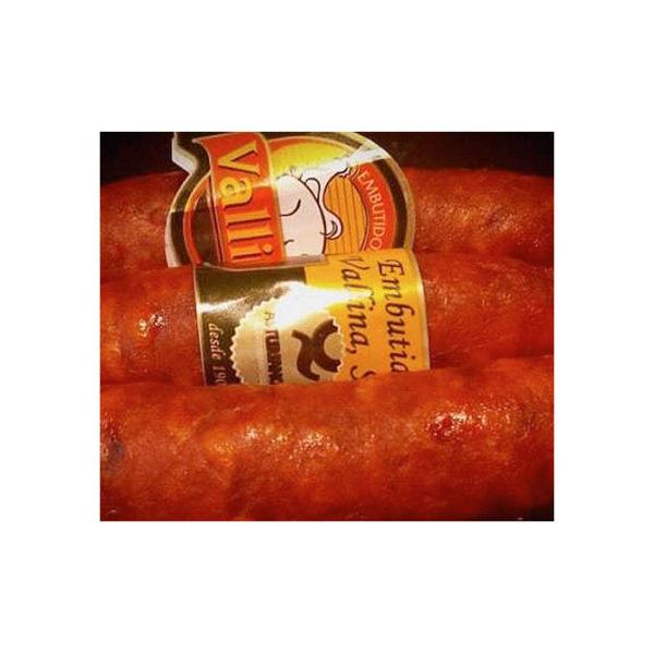 Chorizo de Vallina - Gorfolí Gourmet, tienda online de productos de Asturias