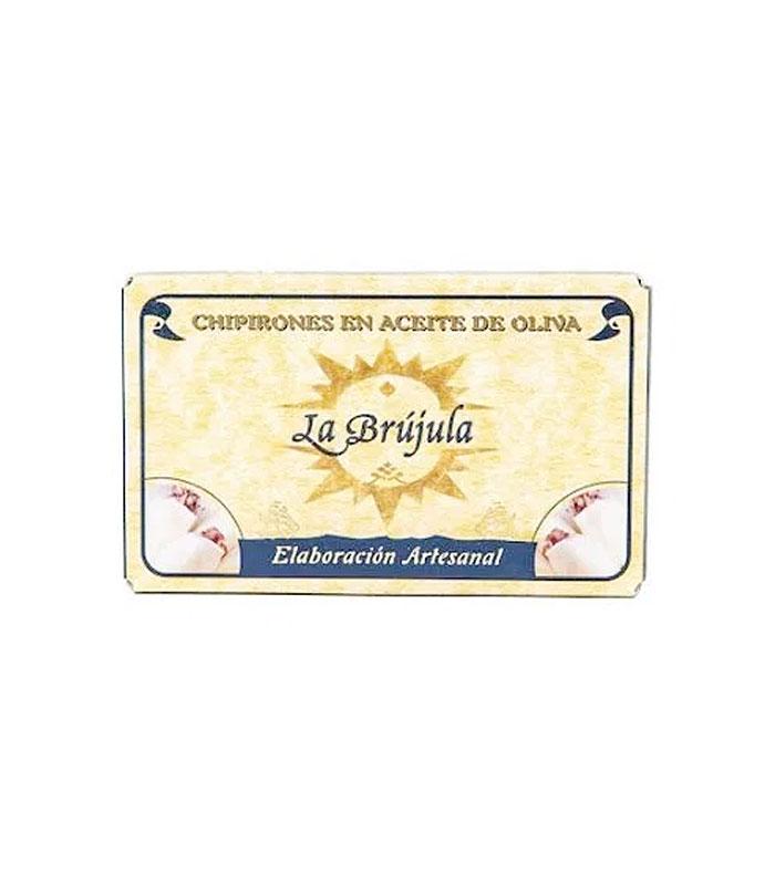 Chipirones en aceite de oliva La Brújula.
