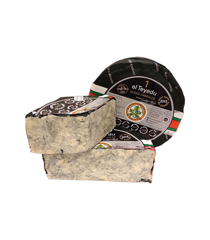Queso Cabrales el Teyedu, Quesos de Asturias, gorfoli.com tienda online quesos de Asturias