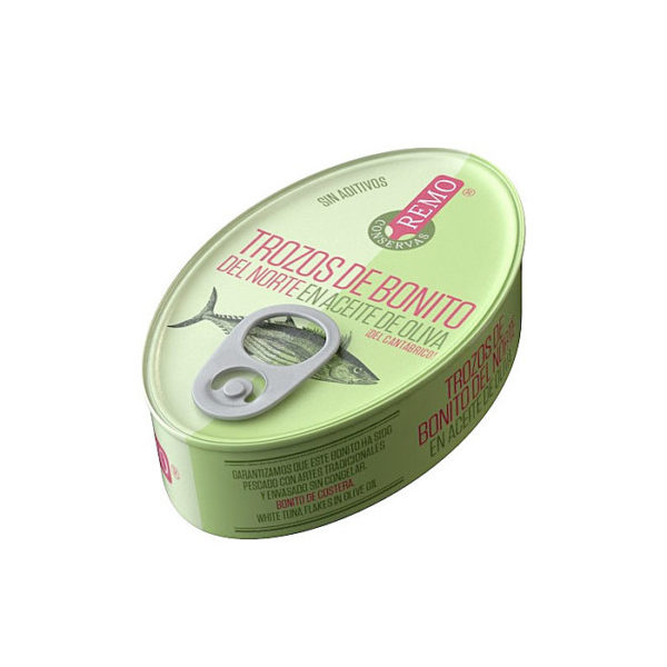 Trozos de Bonito del norte Remo - Gorfolí Gourmet, tienda online de productos de Asturias