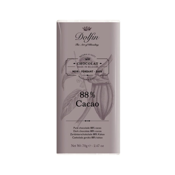 Chocolate negro 88% cacao Dolfin