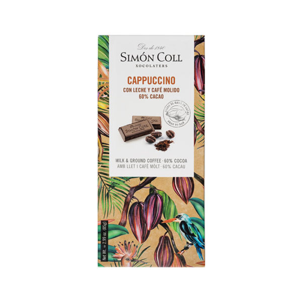 Chocolate con leche y café Simón Coll