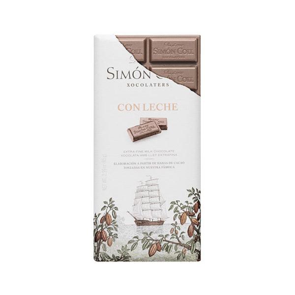 Chocolate con leche Simón Coll