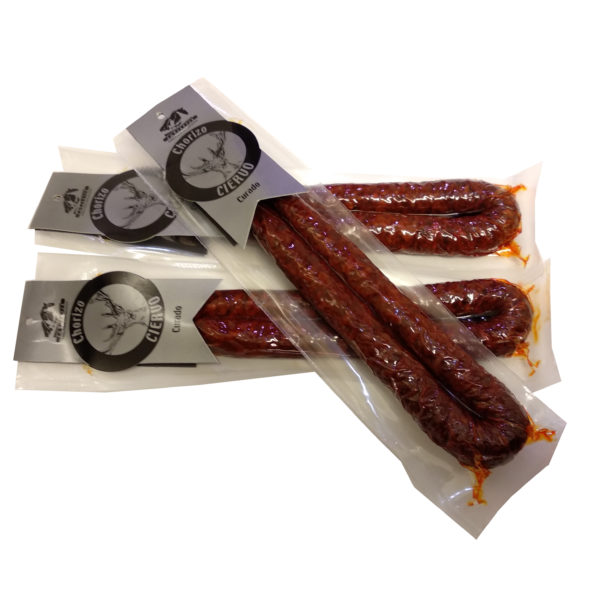 Chorizo de Ciervo curado de Embutidos EmbuAstur, Gorfolí Gourmet tienda online