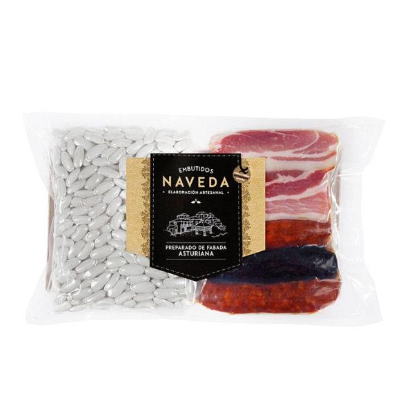 Preparado de Fabada Asturiana Naveda 6 Raciones - Gorfolí tienda de productos asturianos