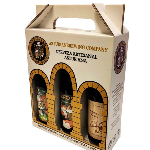 Pack cervezas artesanas asturianas