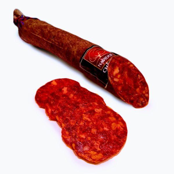 Chorizo ibérico de cebo Navidul 50% raza ibérica al corte