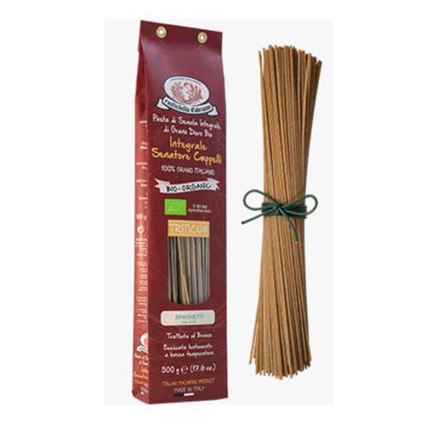 Spaguetti italiano integral bio 500 g