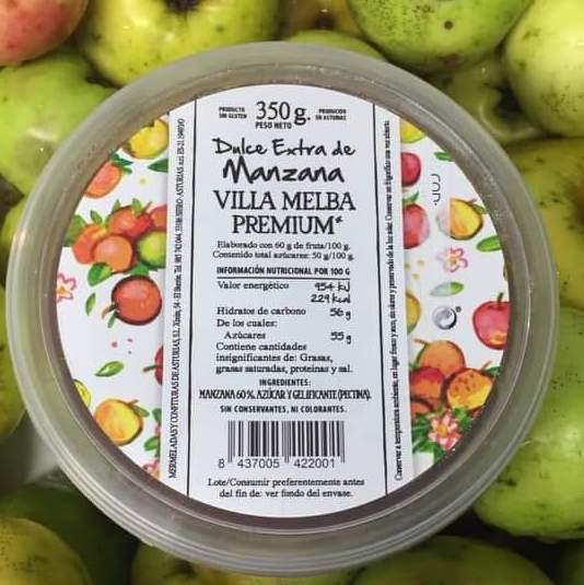 Dulce de manzana Villa Melba